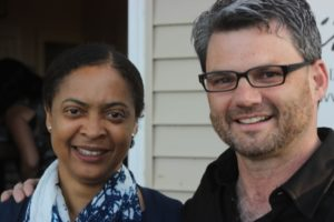 Danielle Legros Georges and Kevin Gallagher